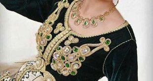 صورة قنادر قطيفة للاعراس , لكل امراة عصرية اليك تشكيلة قندر قطيفة مناسب لكل عرس