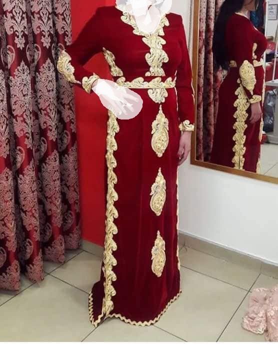 صورة قنادر قطيفة للاعراس , لكل امراة عصرية اليك تشكيلة قندر قطيفة مناسب لكل عرس 438 7