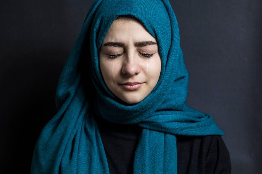 صورة صور بنات محجبات حزينه , صور حزينة ولكن جميلة للمحجبات 5355 9