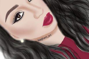 صورة رسومات بنات جميلة , الجمال نعمة
