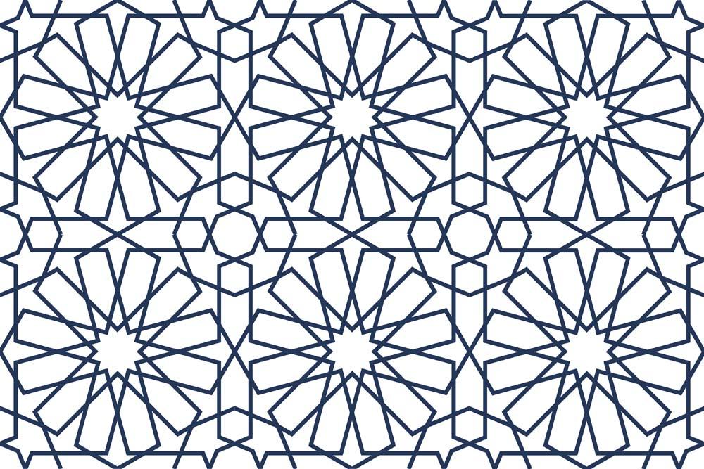 زخرفة اسلامية اشكال رائعة ومبتكرة للزخارف الهندسية الاسلامية دلع ورد