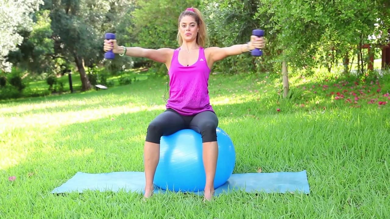 صورة تمارين شد الصدر , ظبطى حجم صدرك من خلال تمارين الصدر
