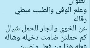 صورة قصيدة مدح في الخوي , القصائد التى تمدح فى الاخ