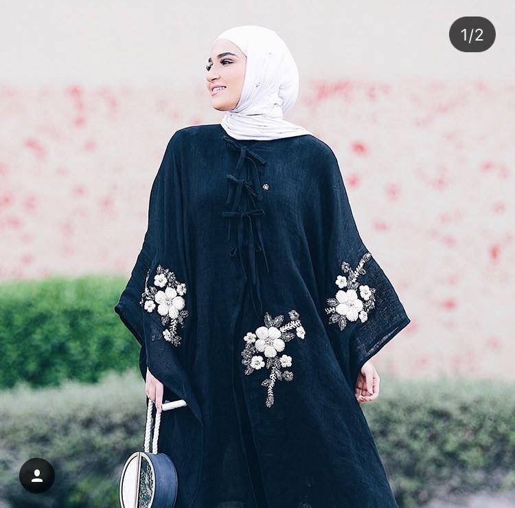 صورة عبايات كويتية , الموديلات الكويتيه فى العبايات