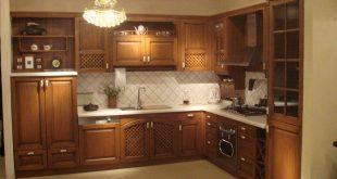 صورة مطابخ خشب , احدث مطبخ خشبى جديد