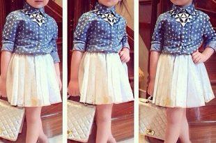 صورة ملابس بنات اطفال , اشيك ملابس اطفال بناتى