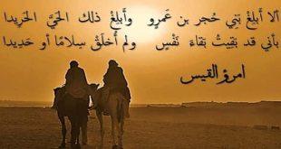 صورة اجمل اشعار امرؤ القيس 11706 1 310x165