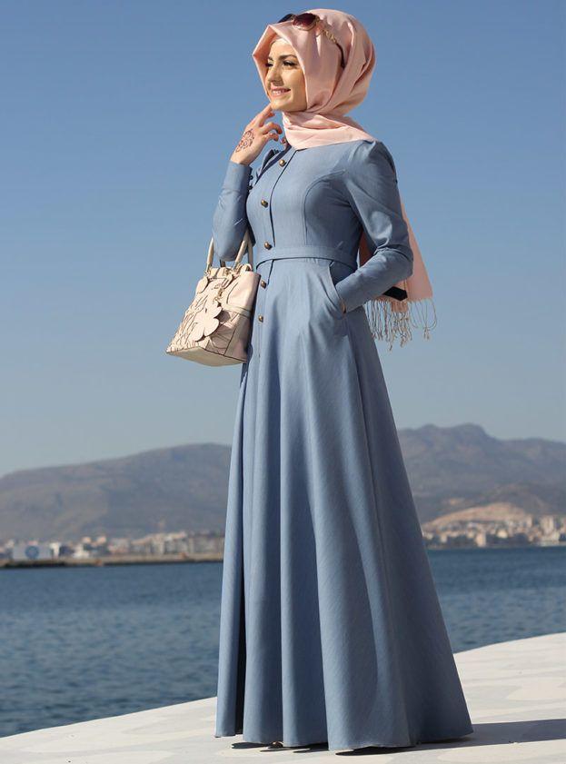 صورة لباس حجاب تركي , للحجاب التركي فخامته 12126 3