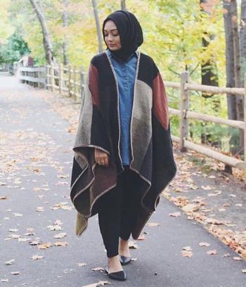 صورة لباس حجاب تركي , للحجاب التركي فخامته 12126 7